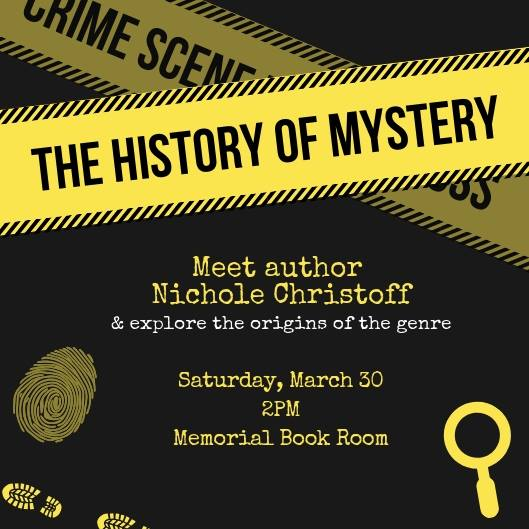 """Nichole presents """"the history of mystery"""""""