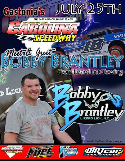 Carolina Speedway Bobby Brantley