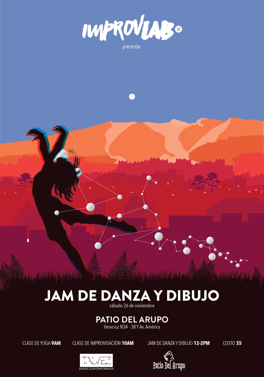 JAM DE DANZA Y DIBUJO