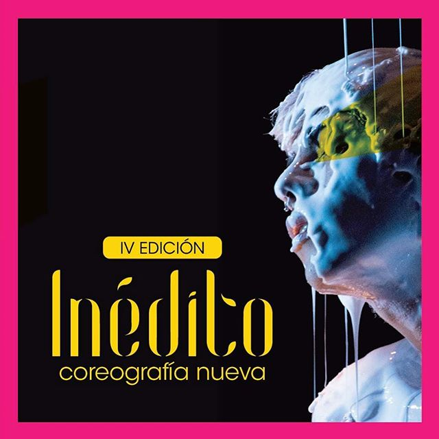 Magenta for the 4th edition of the dance festival Inédito! Organized by @talvezdanza from @usfq #poster 📷 JuanPa Viteri. #usfq #dance #art #magenta #graphic #yellow #fluid #movement