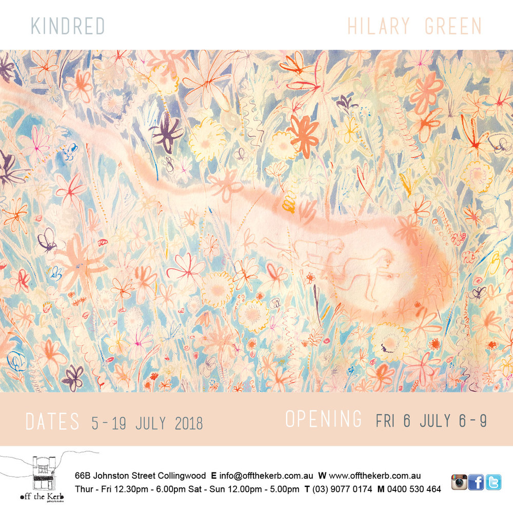I a very excited to be having a second Solo Show! Please come and see if you are in town xo Hilary