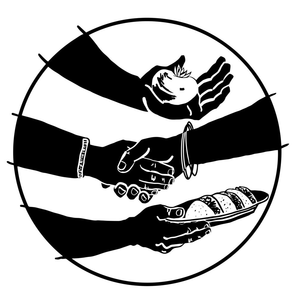 New Columbia Farmers Market  Portland, OR  Logo for Web & Print  2016