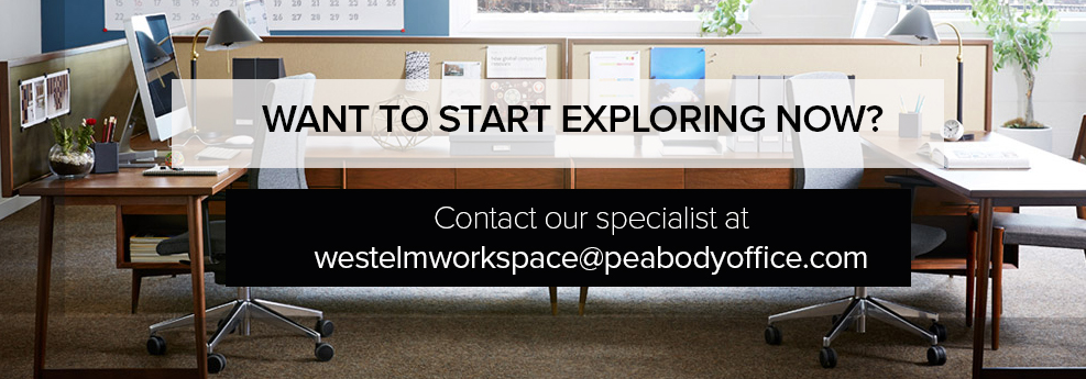 Marvelous With Our Strategic Partnership With West Elm Workspace, Peabody Office Now  Offers A New Way To Enhance Your Workspace And Work Experience.