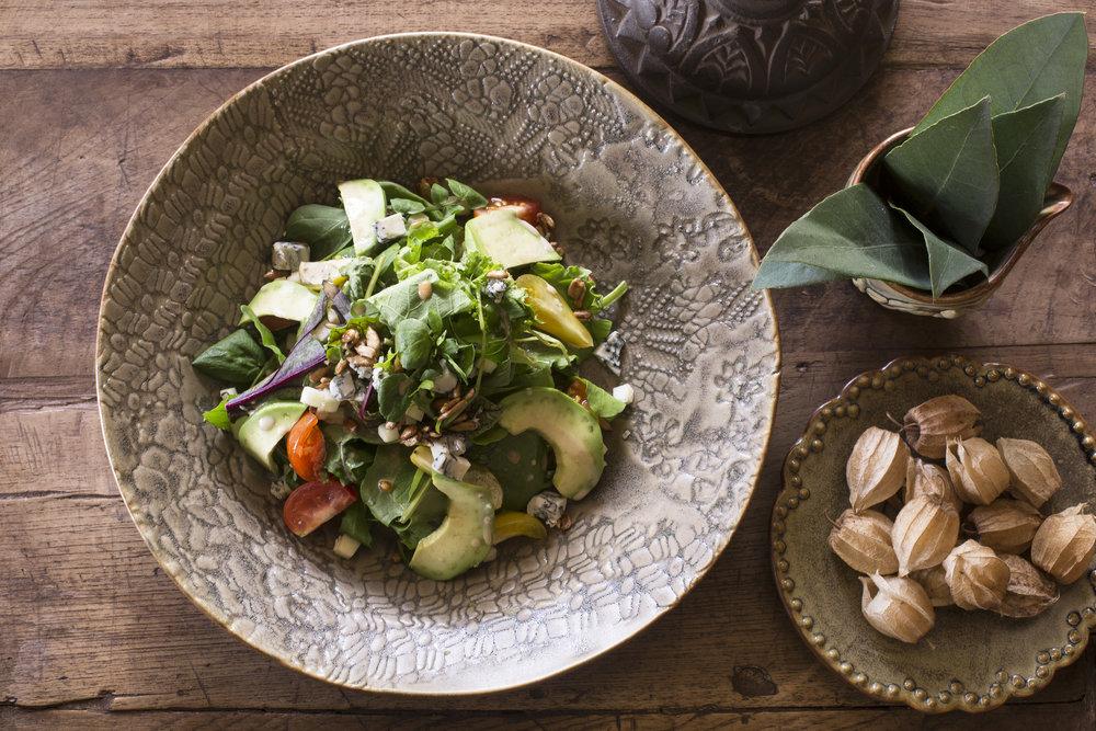 All meals served at Hacienda Urubamba highlight fresh produce straight from the organic farm