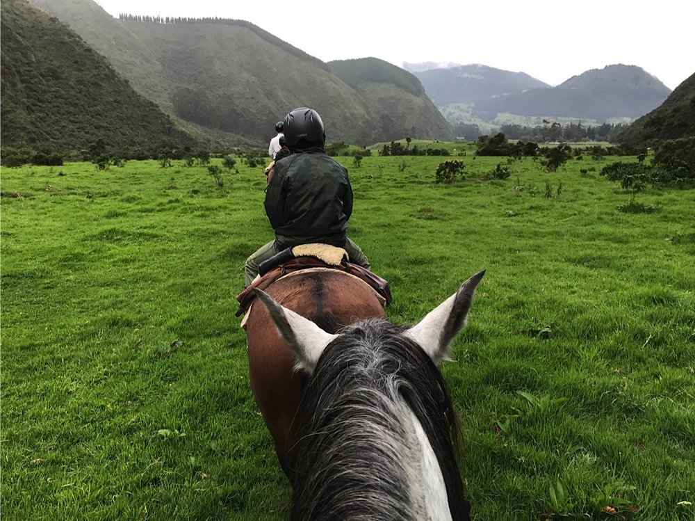 Exploring the Andean Highlands on horseback at Hacienda Zuleta