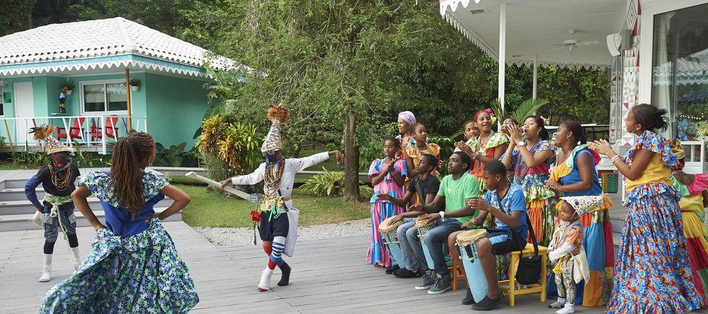 Congo Dance performance at El Otro Lado