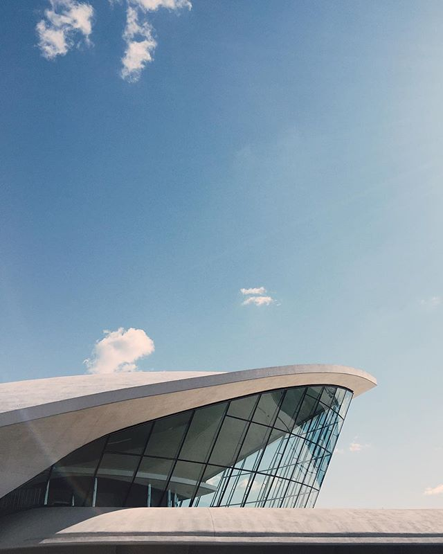 @openhousenewyork opened the TWA Flight Center to the public for one day this weekend and gave us look into the elegance of the early days of commercial air travel. (with @aipng @sixpaperbirds @tjmceniry @terminal_mjb @mike7440)