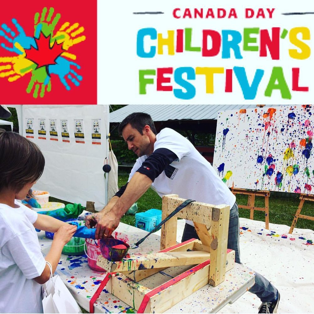 2017 Canada Day Children's Festival - Meikle Studios will be at the Salmon Arm Fair Grounds with a FREE activity for kids - and grown ups too!