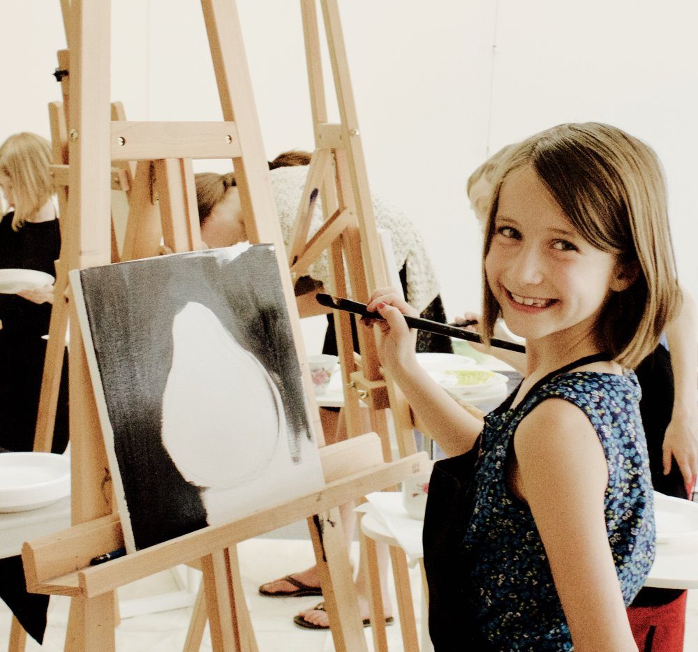ART LAB for kids! - Encourage your child to UNPLUG and PAINT. Kids can experiment with a variety of art mediums and techniques. Help them explore their creative side and unveil a new adventure every time.These sessions are for ages 5 - 15