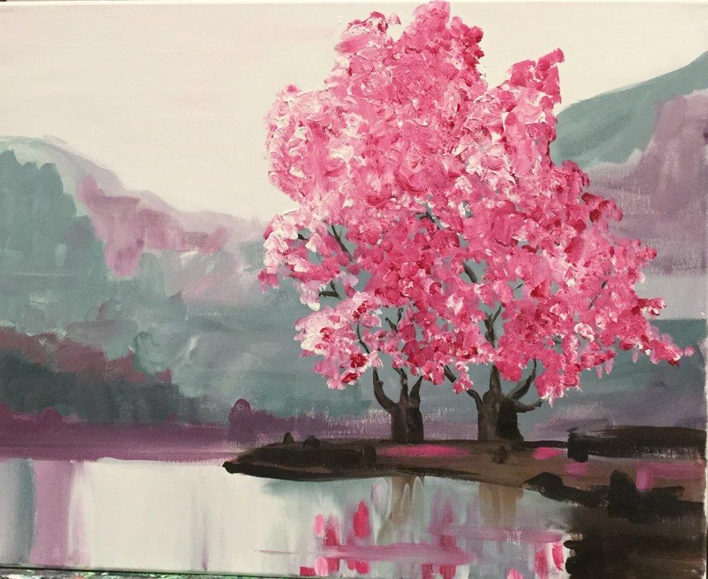 Cherry Trees -