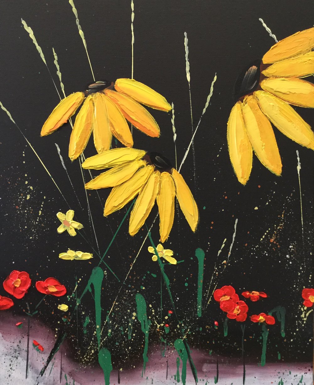 $50.00 - per painter. Includes wine or beer. No alcohol option available.