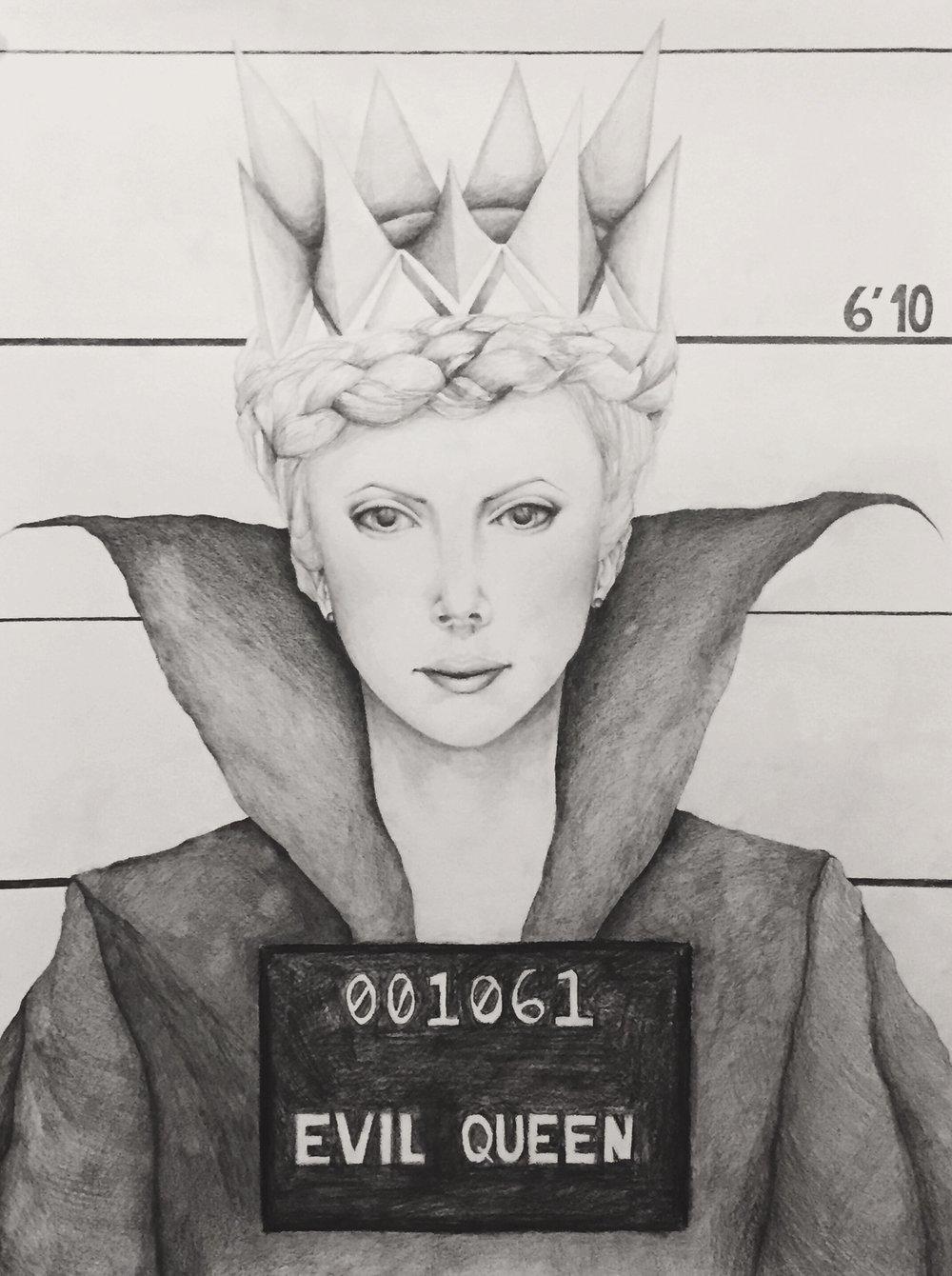 Evil Queen's Mugshot