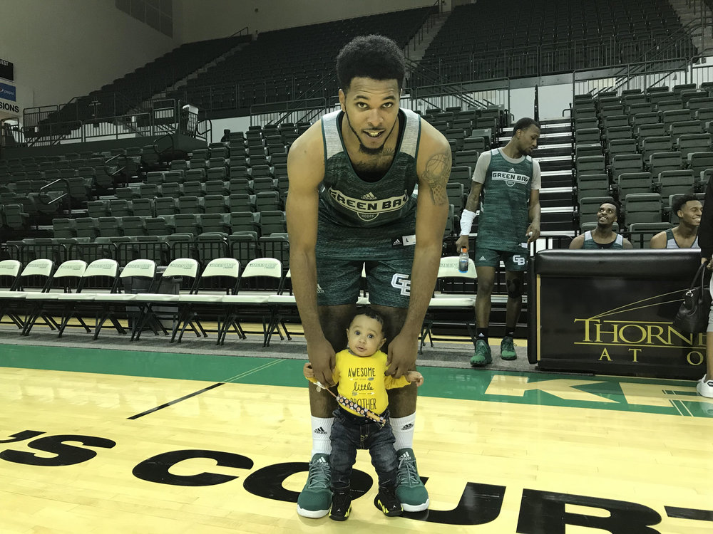 JayQuan & his son Jay'Ceon.