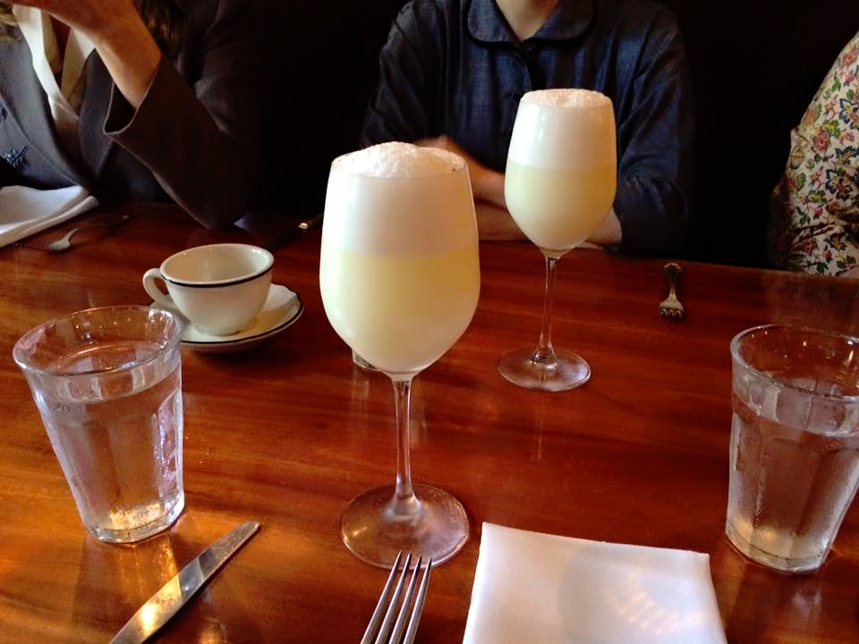 Slow Gin Fizz done right! (Took 15 minutes to shake!)