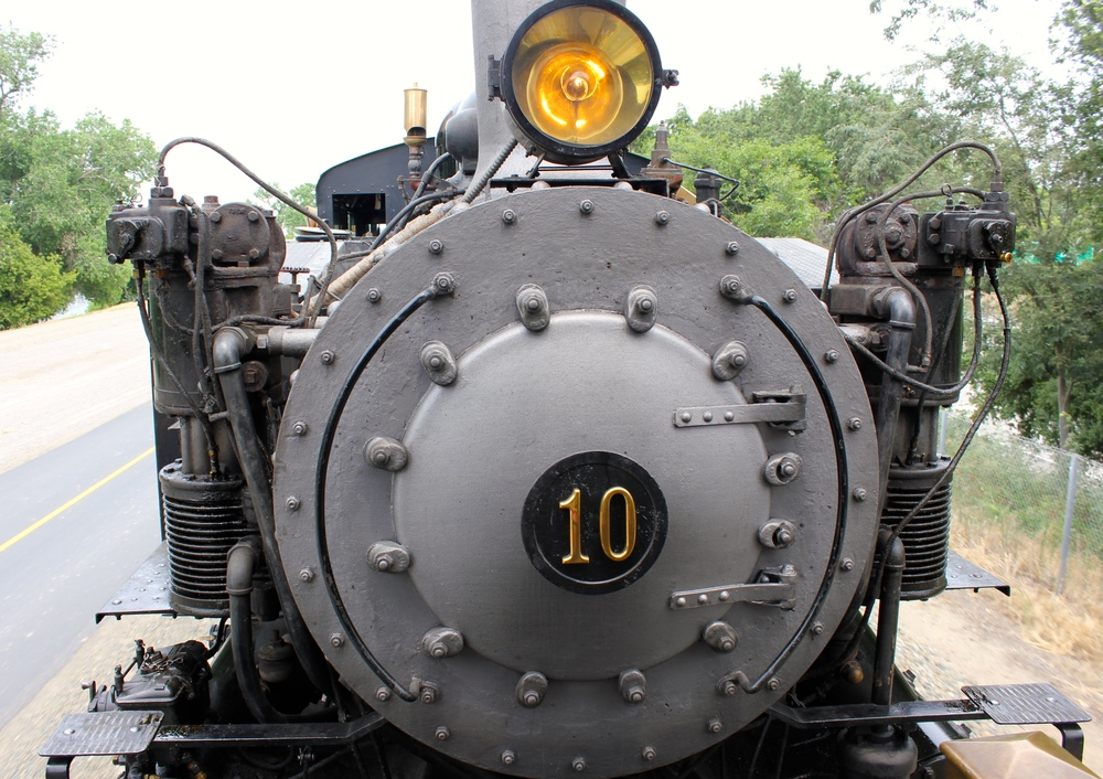 The front of our train, Granite Rock No. 10