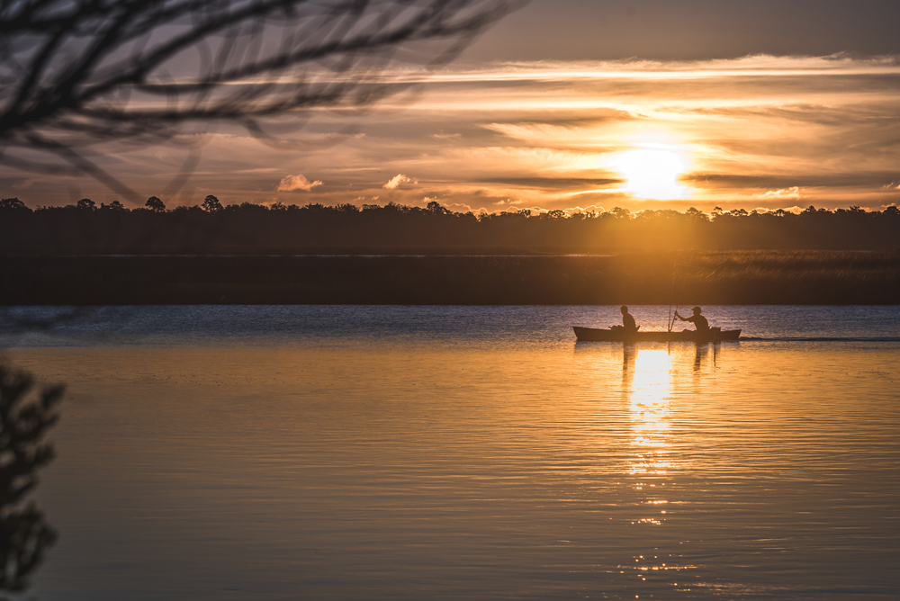 Canoeing at Dawn
