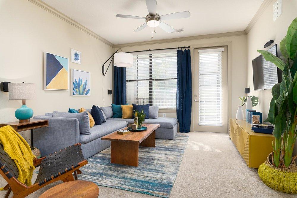 Apartment Model Living Room Photo