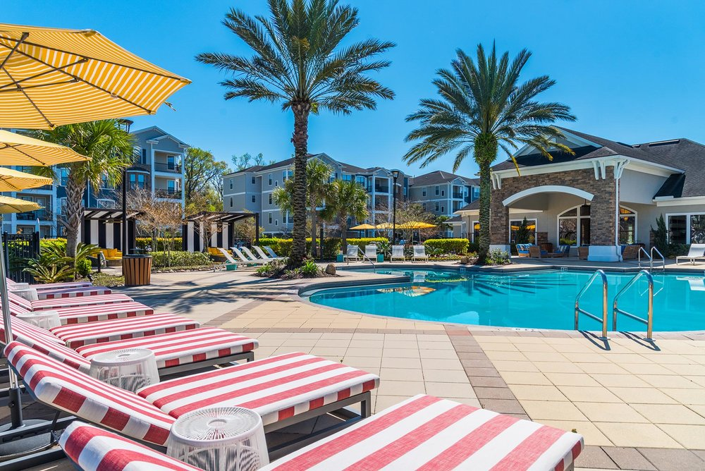 Jacksonville Apartment Pool Photography