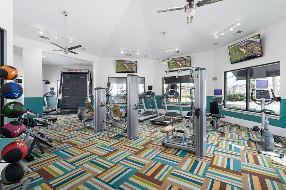 Community Gym in Apartment Complex