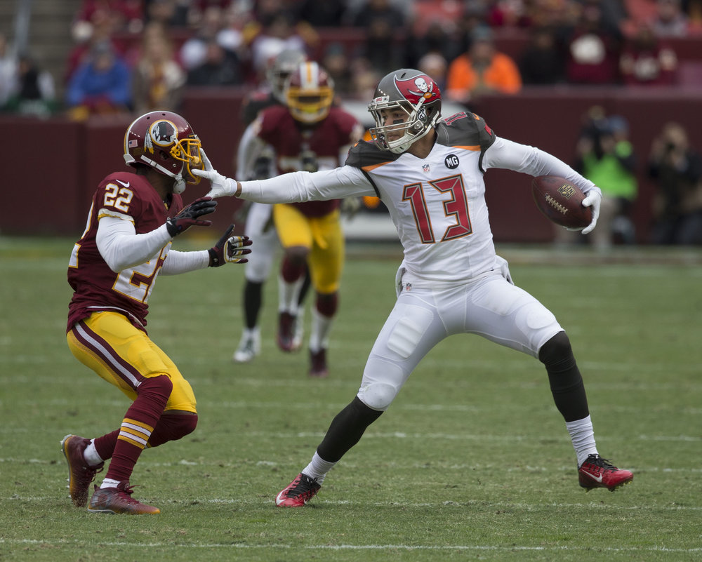 Buccaneers at Redskins 11/16/14