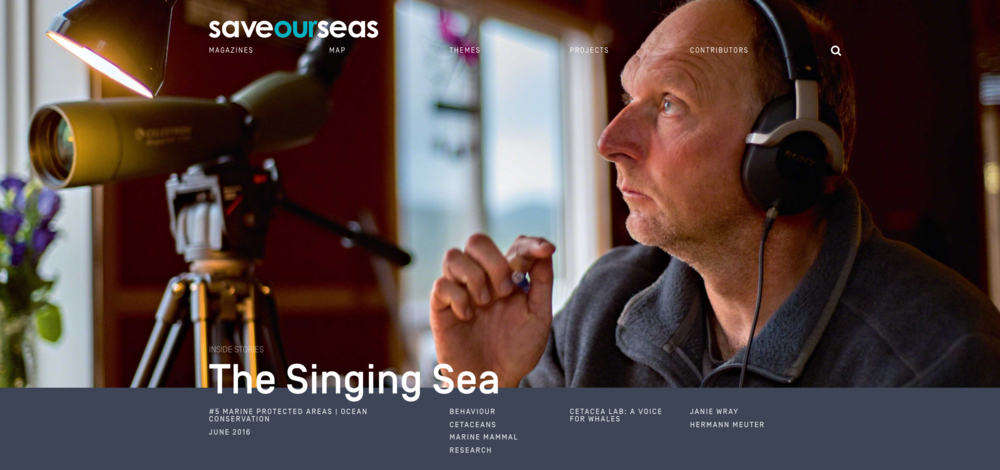 The Singing Sea