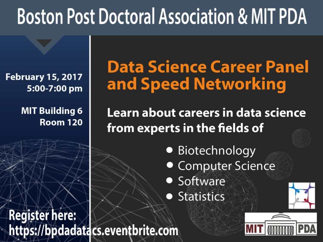 Data Science, Informatics, Computer Science Career Panel