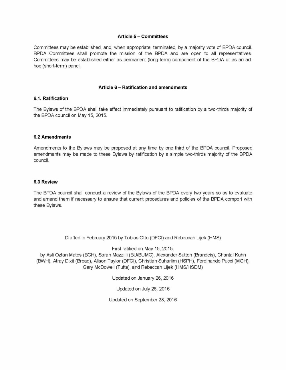 BPDA bylaws Page 4