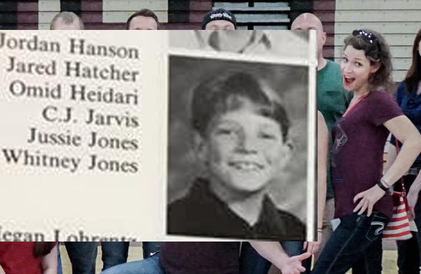 Yup. No really, that's me. Fifth grade. Shudder.