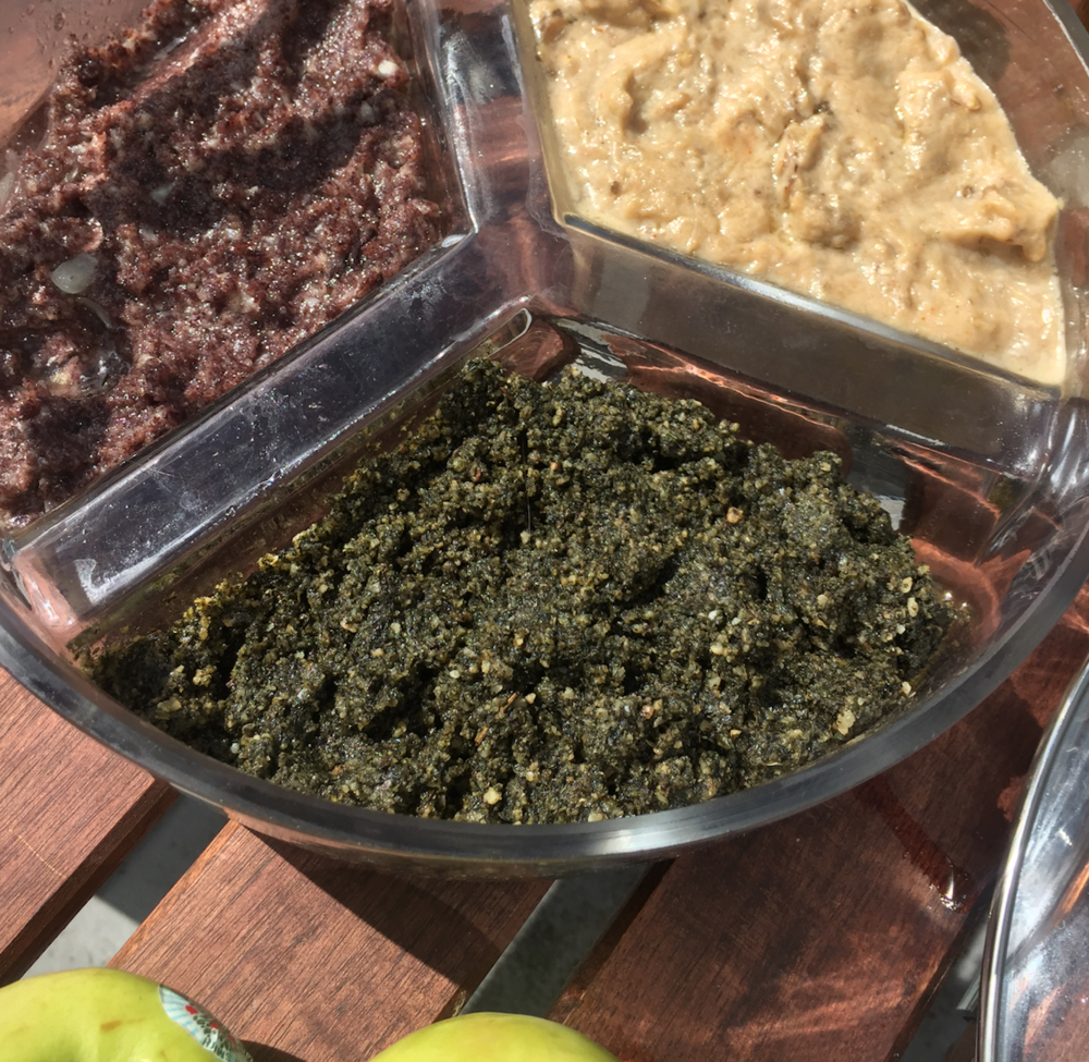 KALE CHIP PESTO -