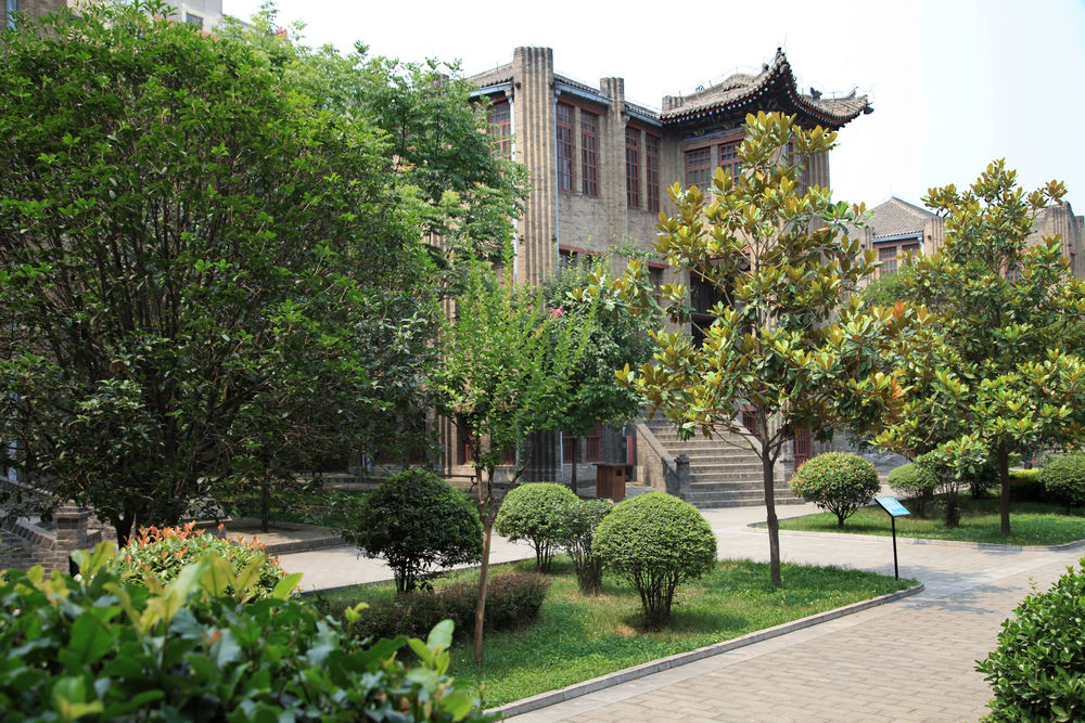 "Zhang Xueliang' home in Xi'an where the lengthy negotiations took place during the ""Incident"""