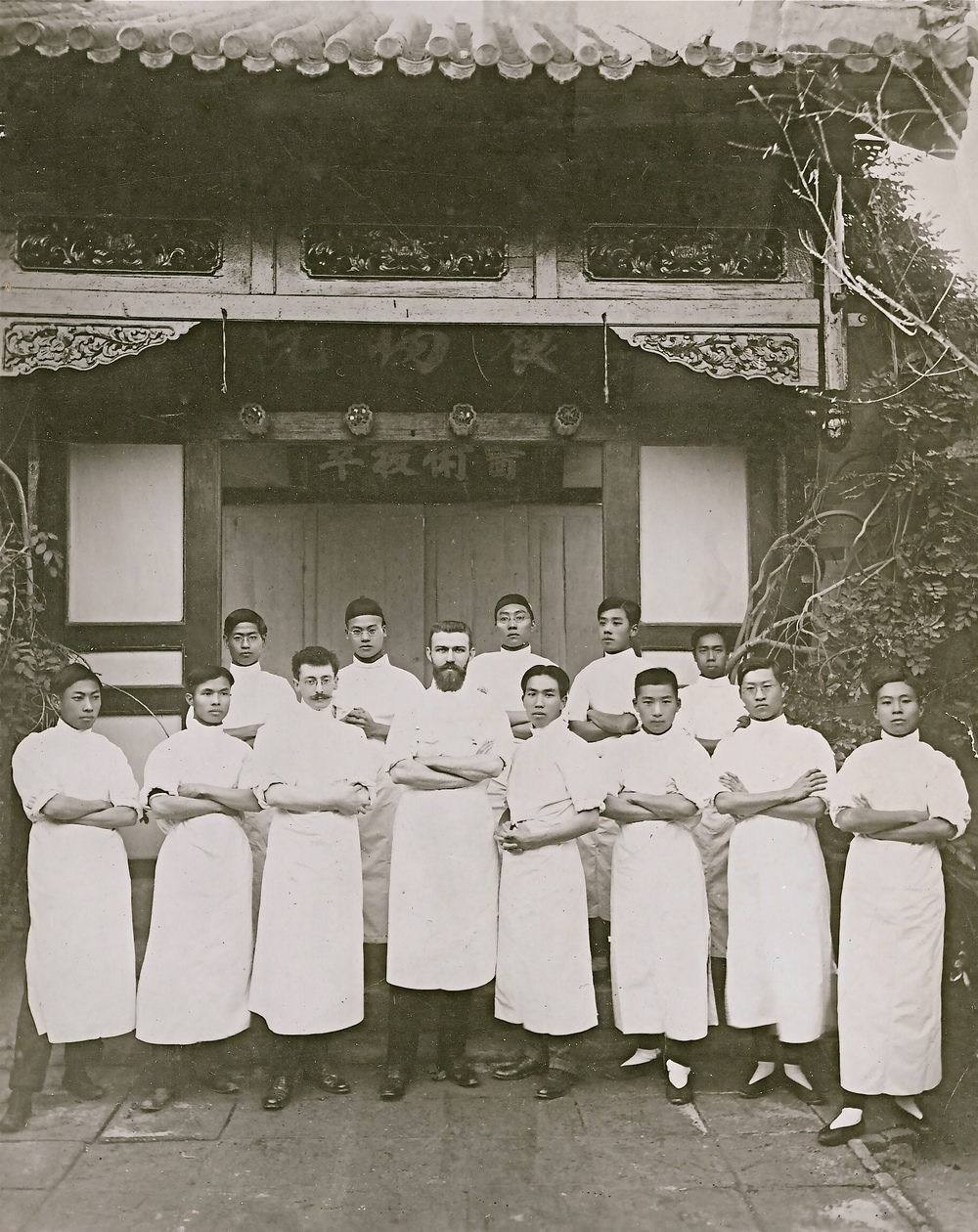 Segalen in Tianjin (third from the left, front row)