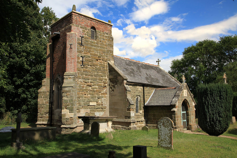 St Margaret's Church at Somersby, where Tennyson's father was the rector.