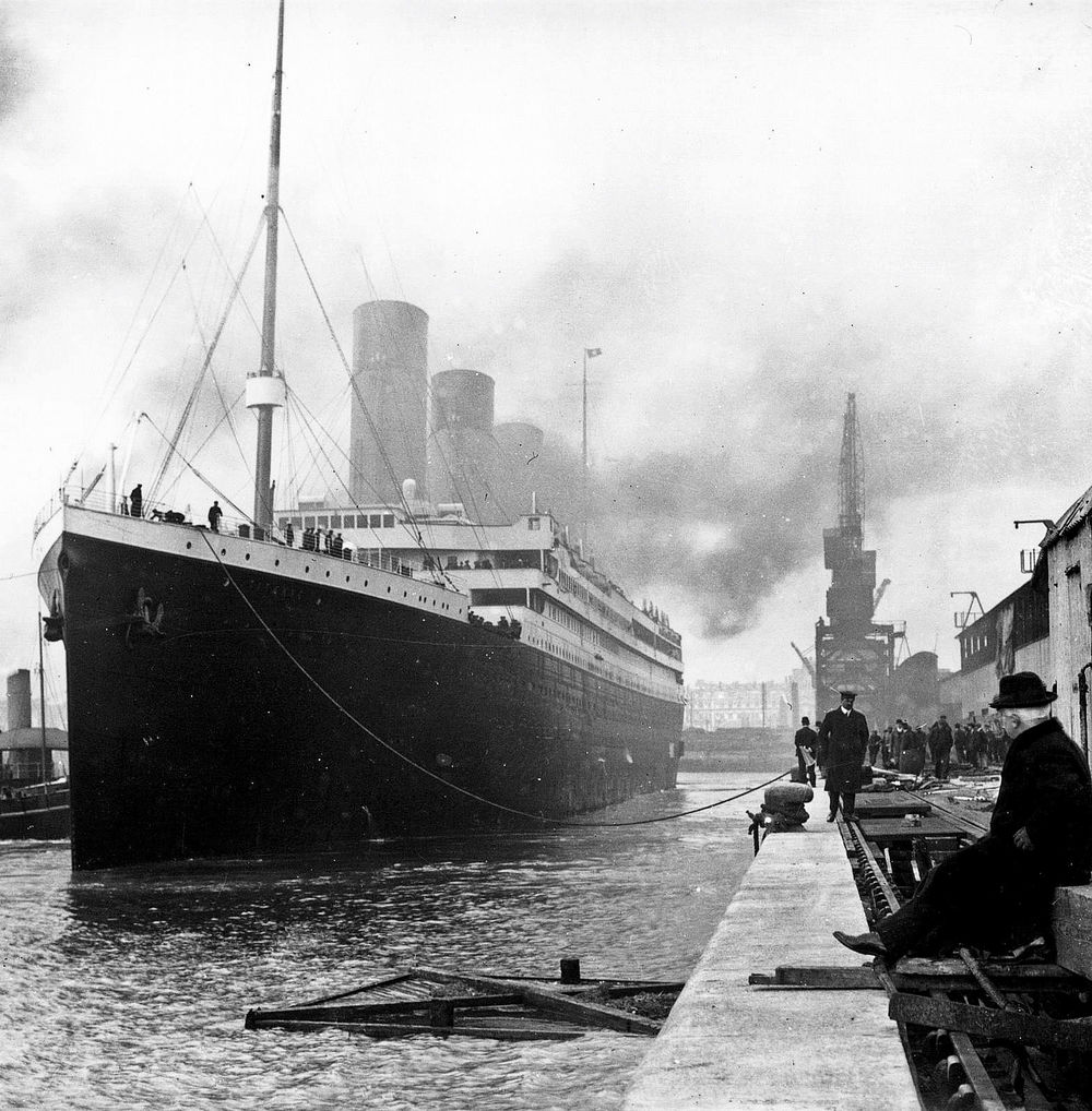 The Titanic in Southampton just before departing for New York (Photo: Wikipedia Commons).