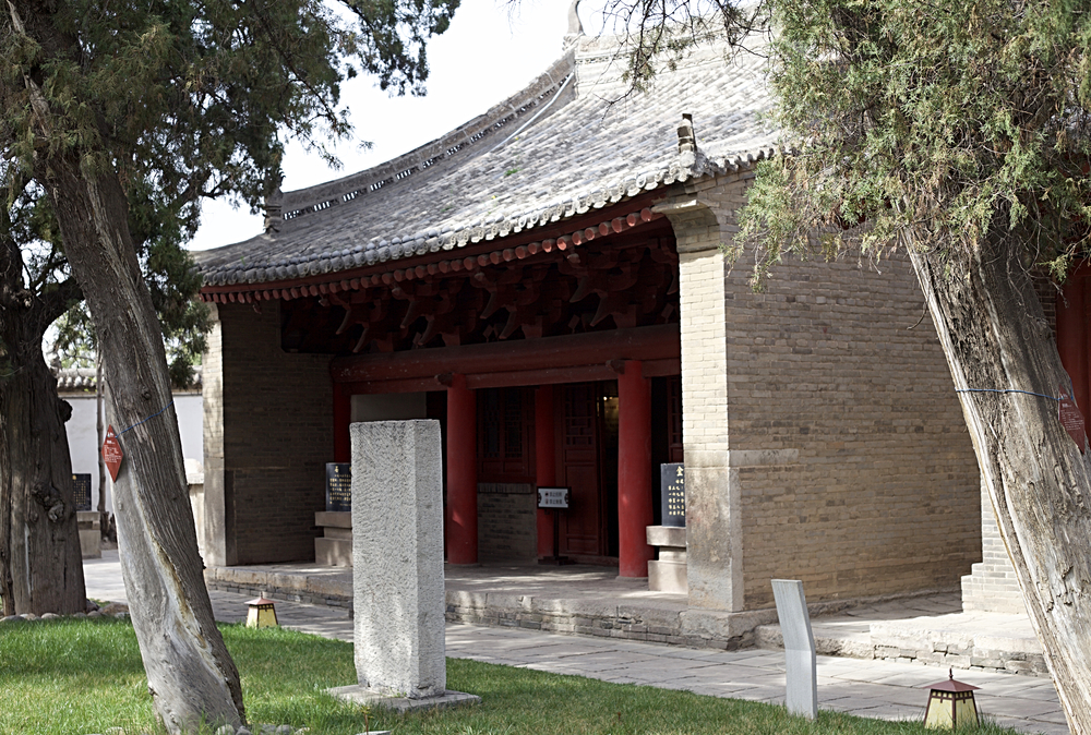 The restored Song dynasty building in which Sun Simiao is thought to have spent much of his time