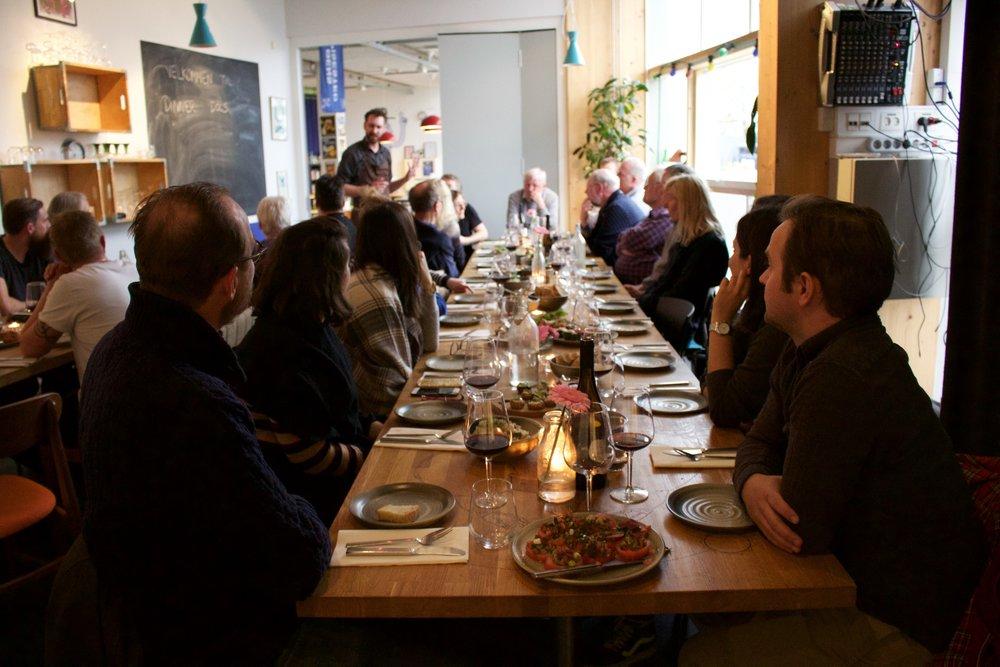 Dinner & Docs - More than documentaries