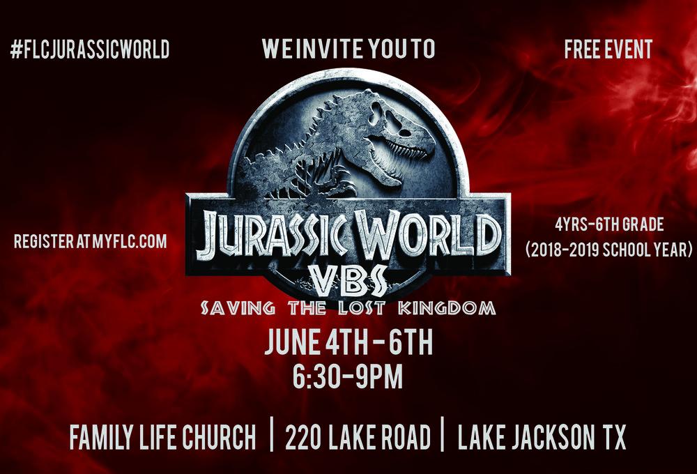 Jurassic World VBS Postcard front.jpg