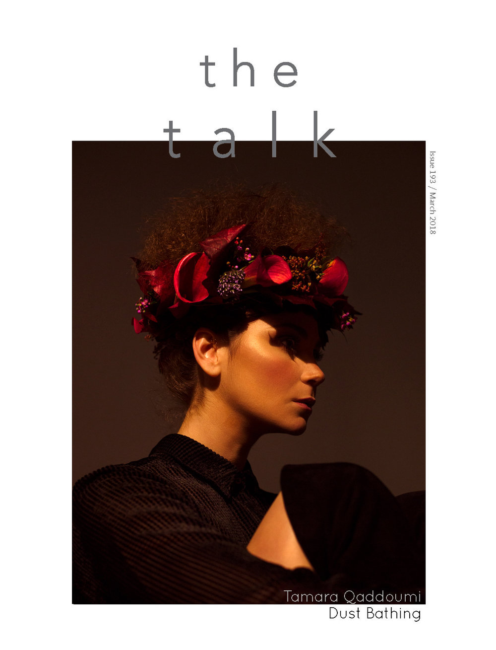 Cover Story  /// Tamara Qaddoumi for The Talk Magazine, Kuwait.    EDITORIAL, FASHION, PORTRAITURE