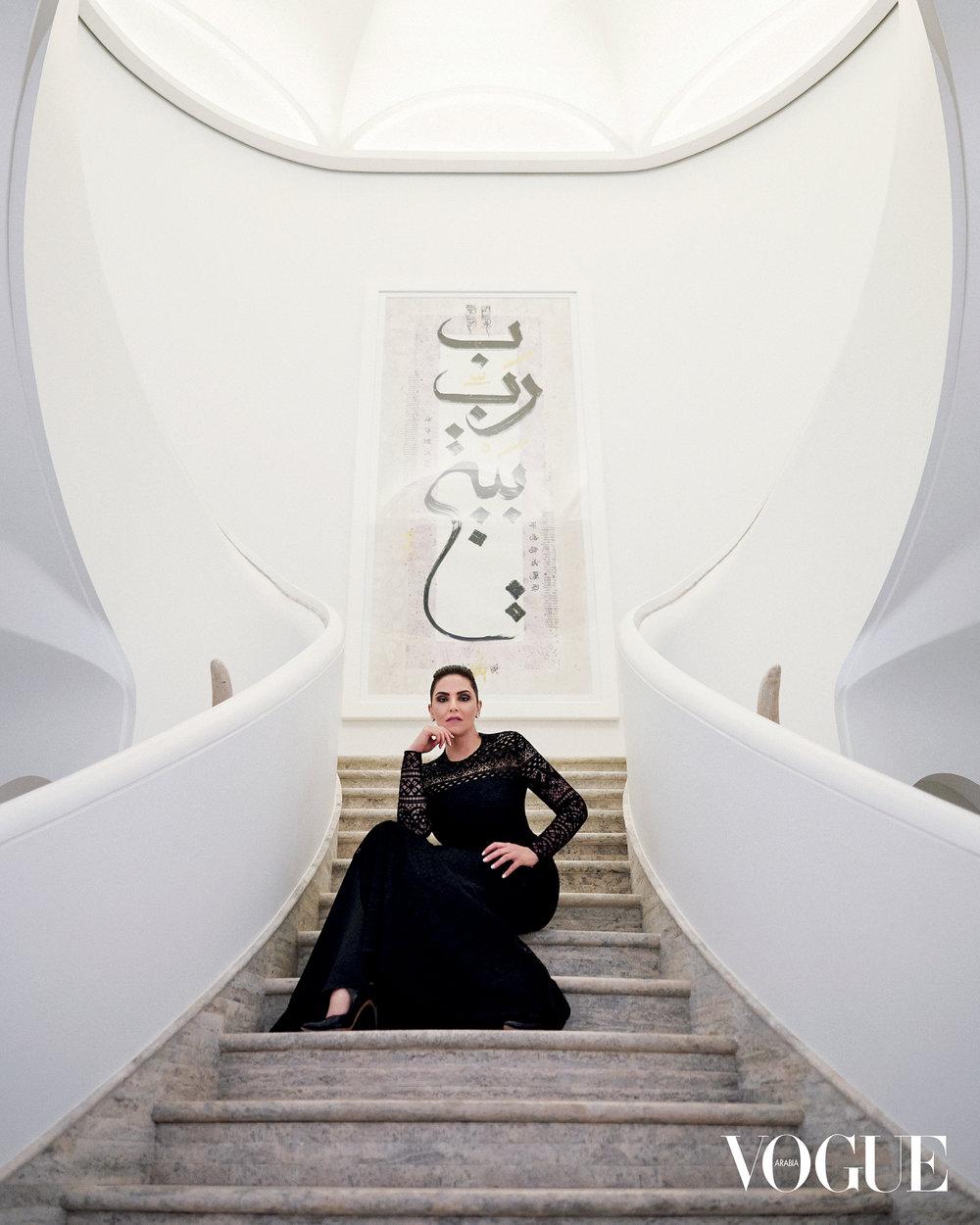 Portrait  /// Sheikha Majda Al Sabah for VOGUE Arabia Magazine, October Issue 2018.   FASHION, EDITORIAL, PORTRAITURE