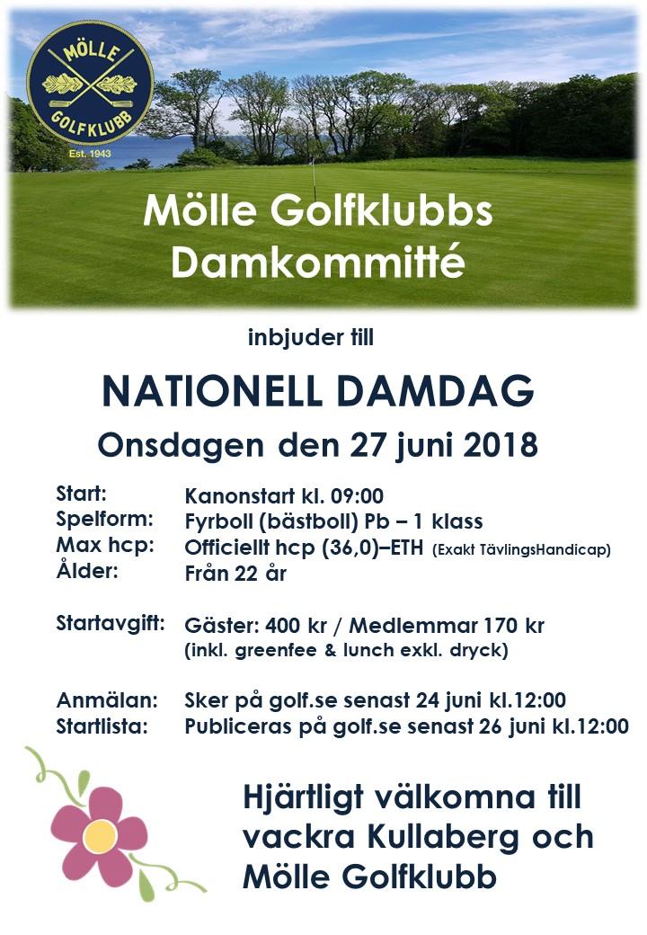 Inbjudan Nationell damdag 2018 på Mölle GK.jpg
