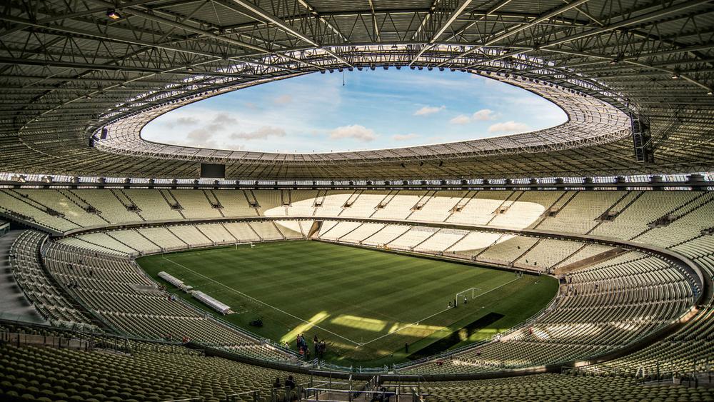 Arena Castelão - Fortaleza, Brazília