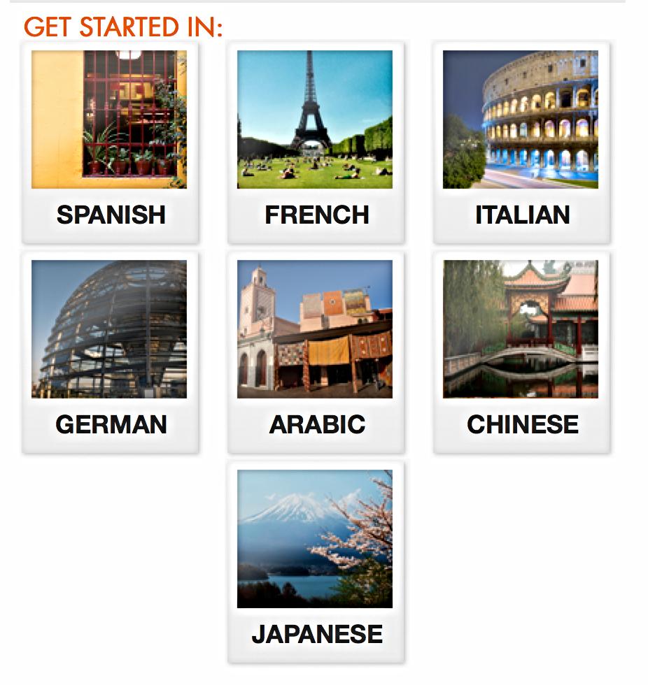 På Fodor´s hjemmeside kan du vælge mellem 7 forskellige sprog, hvorefter du får adgang til de mest grundlæggende udtryk til din næste ferie.