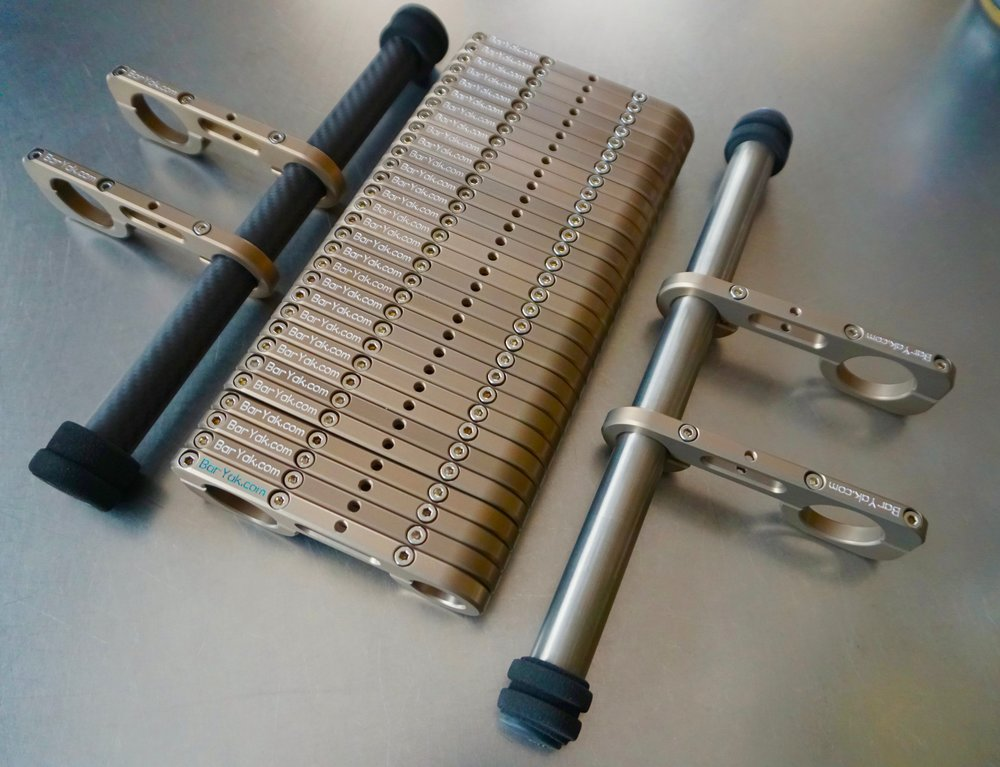 BarYak Ultra Titanium & Carbon