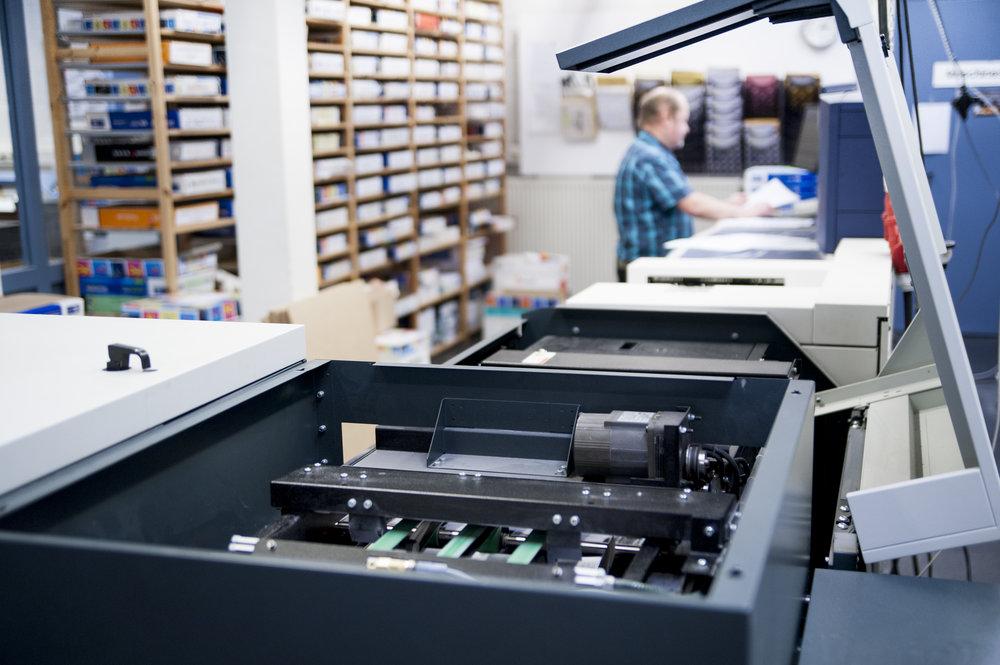 Schwarz-Weiß-Drucksystem Xerox Nuvera 288