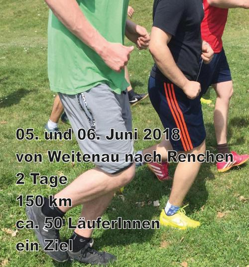 Wir unterstützen dieses Projekt - Anfang Juni fand der Staffellauf der Fachklinik Haus Weitenau statt. Wir haben dieses Projekt mit dem Druck von Flyern unterstützt.Weitere Informationen zu diesem Projekt finden Sie hier.