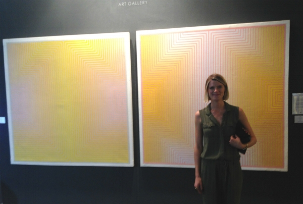Loved this pair of Oil on Canvas by Artist   David Whitaker  exhibited by  Rebecca Hossack Gallery