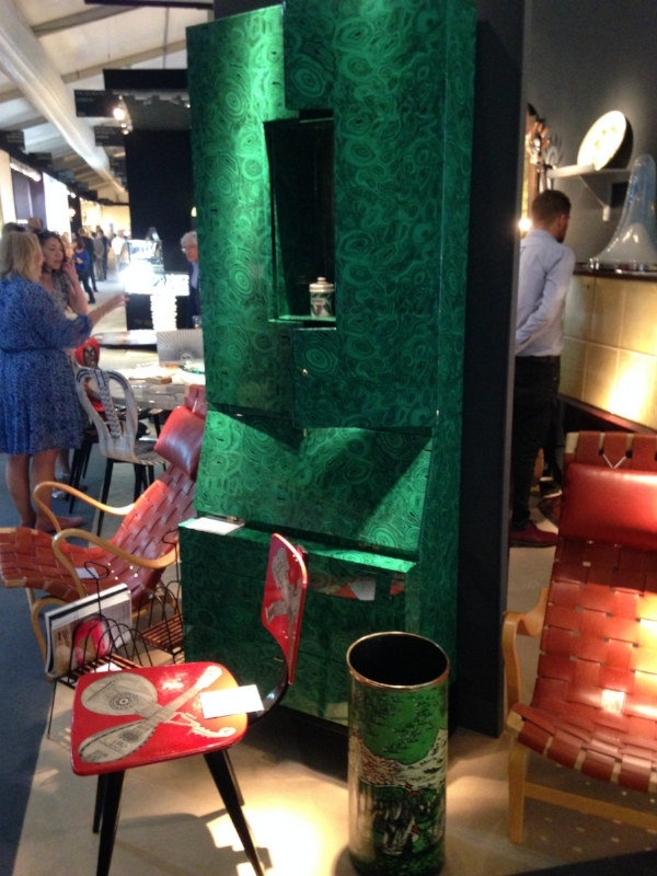 We were drawn to the Stunning selection of  FORNASETTI  pieces at the  Holly Johnson Art & Design  stand.