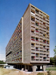 Le Corbusier's completed Unité d'Habitation, Marseilles (1947)