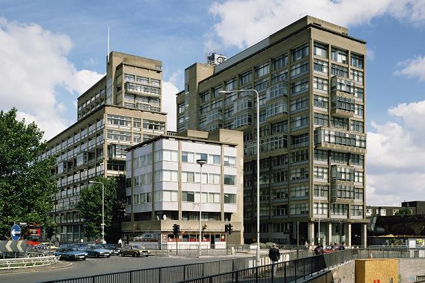 Alexander Fleming House, Elephant & Castle