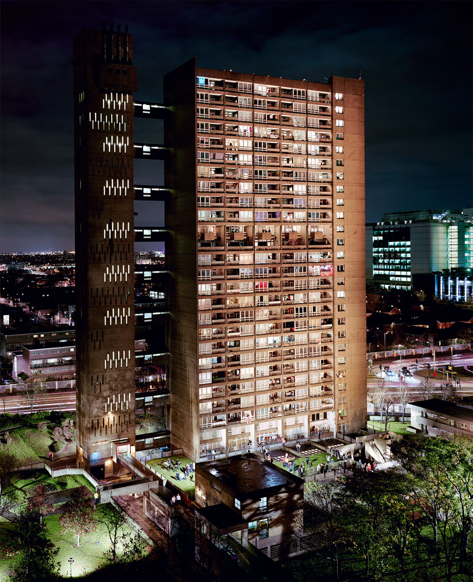 Balfron Tower photographed in 2010 by Simon Terrill in participation with residents of the building