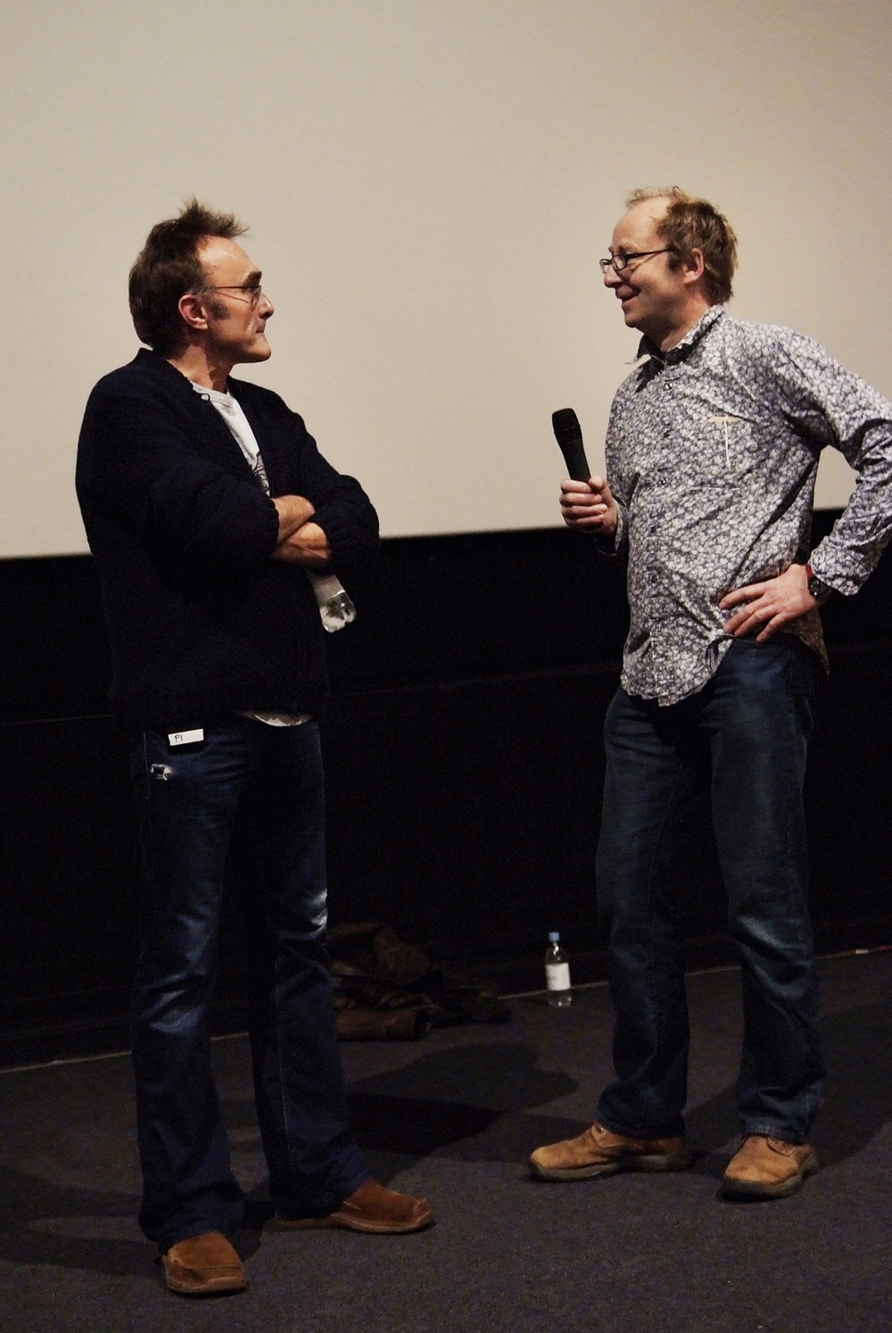 John Hardy leads a masterclass with Danny Boyle at Soundtrack Film Festival